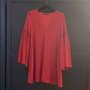 ZARA Trafaluc tunic dress. Lightly worn. Size XS.